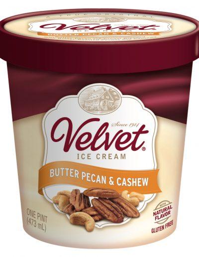 IC QT Butter Pecan & Cashew