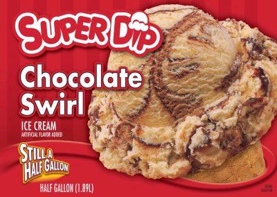IC SuperDip Chocolate Swirl