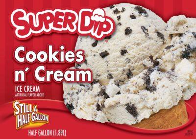 IC SuperDip Cookies 'N Cream